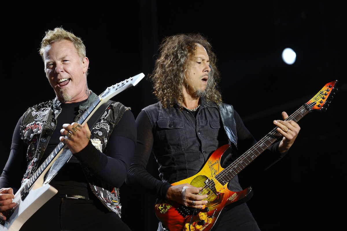 Metallica perform in Melbourne in 2013