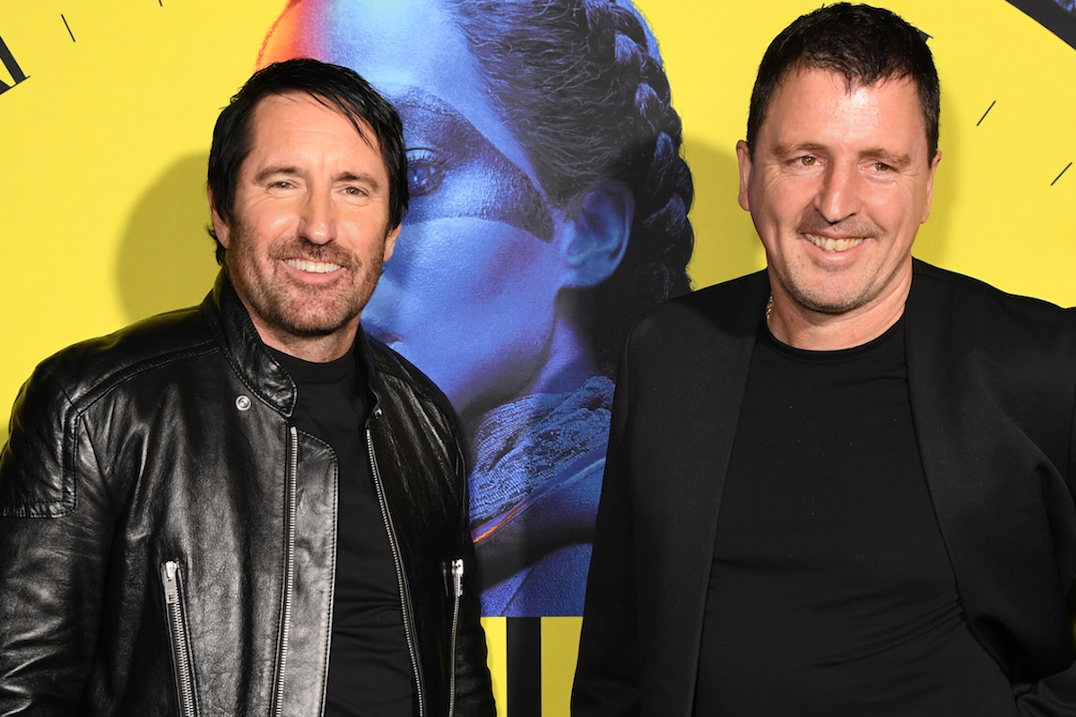 """Trent Reznor and Atticus Ross, Los Angeles Premiere of the new HBO Series """"Watchmen"""""""