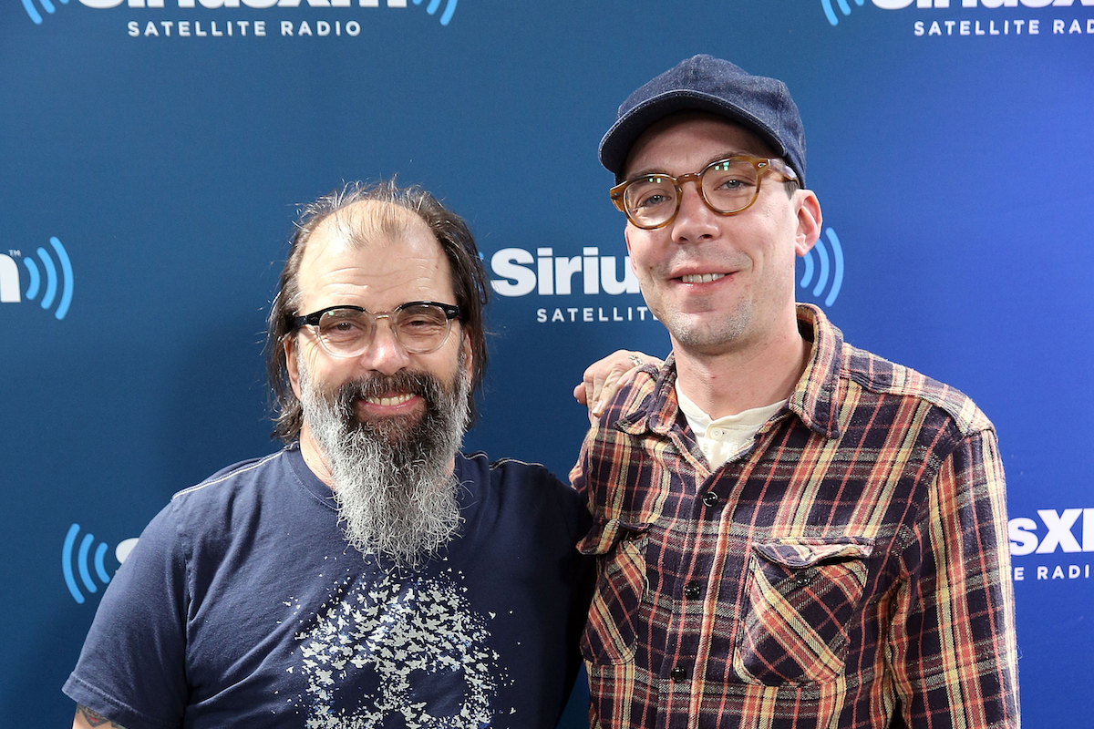Steve and Justin Townes Earle