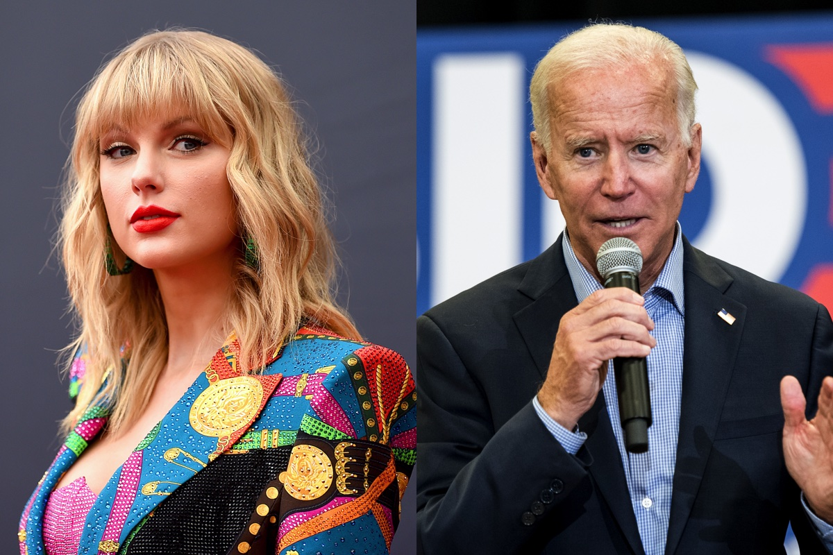 Taylor Swift Is Officially Endorsing Joe Biden Proves It With Cookies Music Feeds