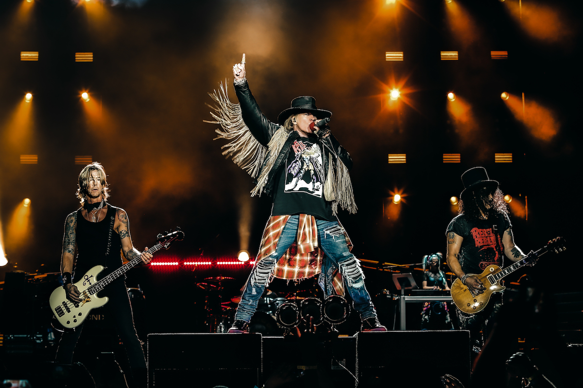 Guns N' Roses to play two New Zealand shows next year