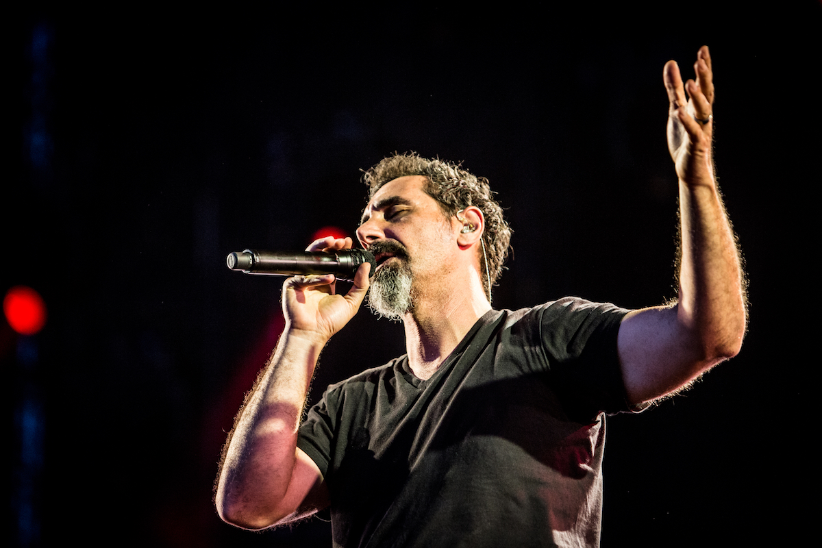 Serj Tankian of System of a Down