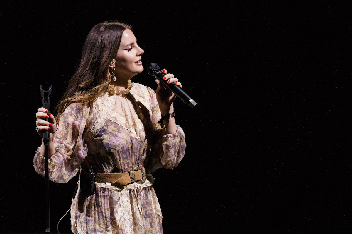 Lana Del Rey Performs At Rogers Arena