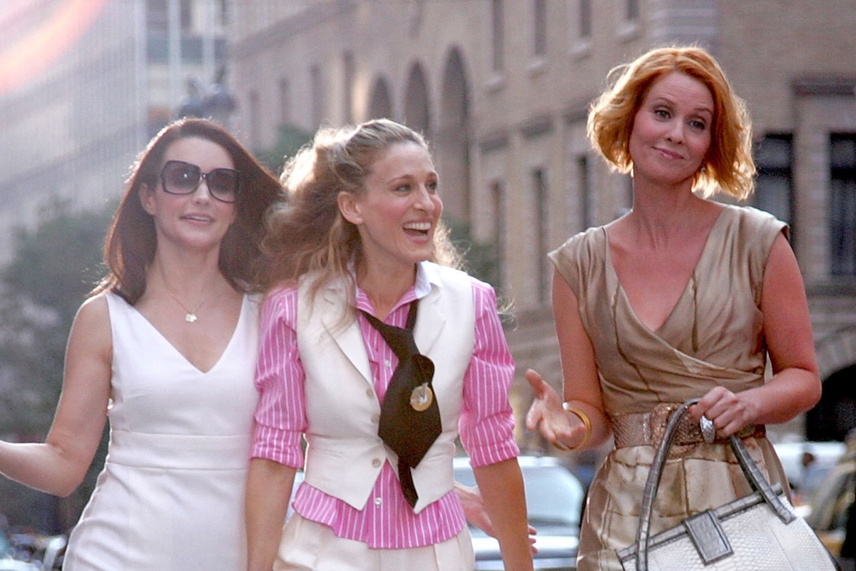 Kristin Davis, Sarah Jessica Parker, Cynthia Nixon of 'Sex and the City'