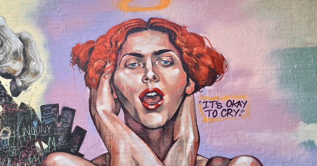 A Mural Of SOPHIE Has Gone Up In Sydney Just In Time For Mardi Gras