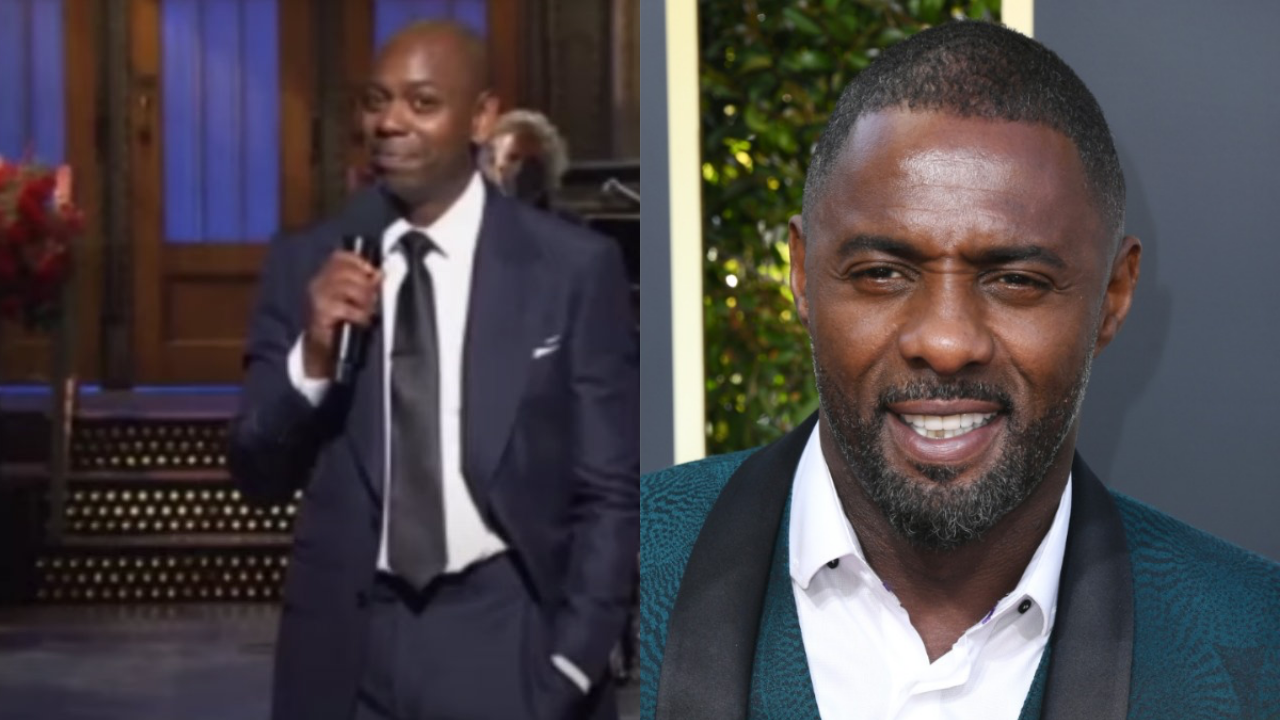 Dave Chappelle Say's He Used To Cop His Weed From Idris Elba !?
