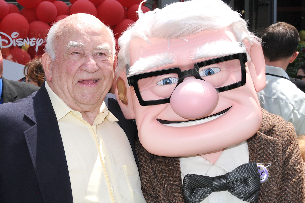 Ed Asner at the 'Up' film premiere