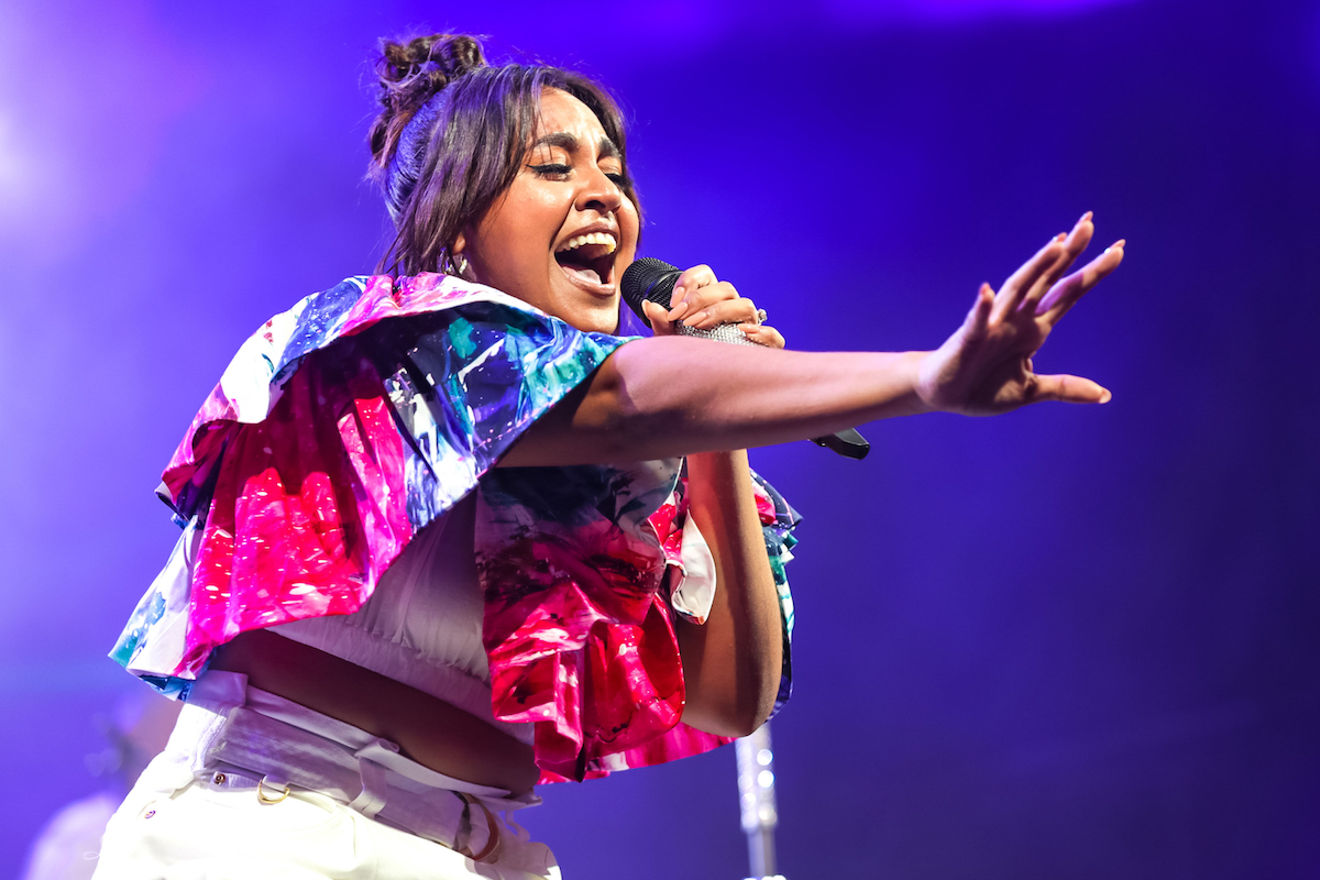 Jessica Mauboy performs in 2020
