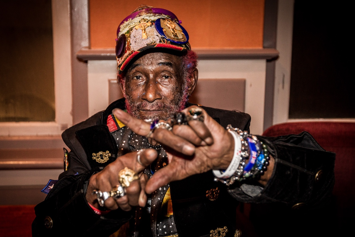 Lee Scratch Perry in 2018