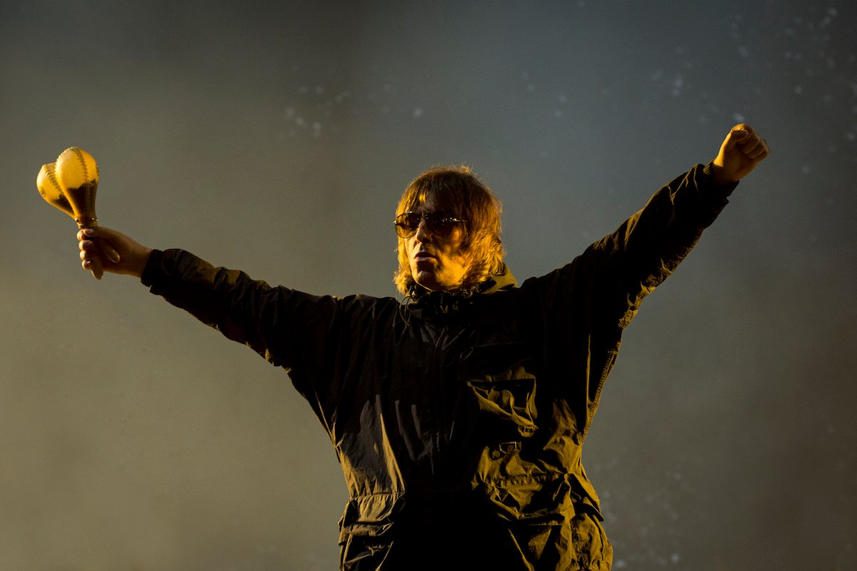 Liam Gallagher performs at Isle Of Wight Festival 2021