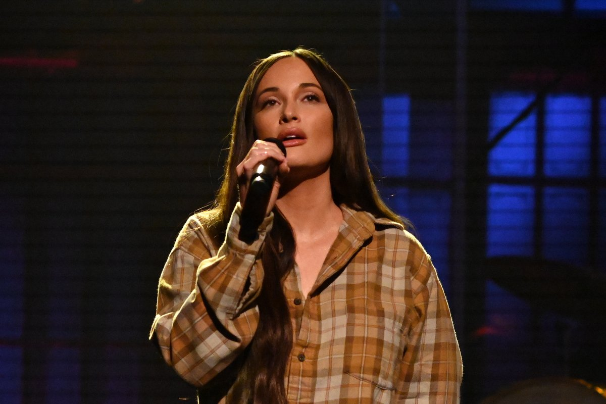Kacey Musgraves performs on SNL