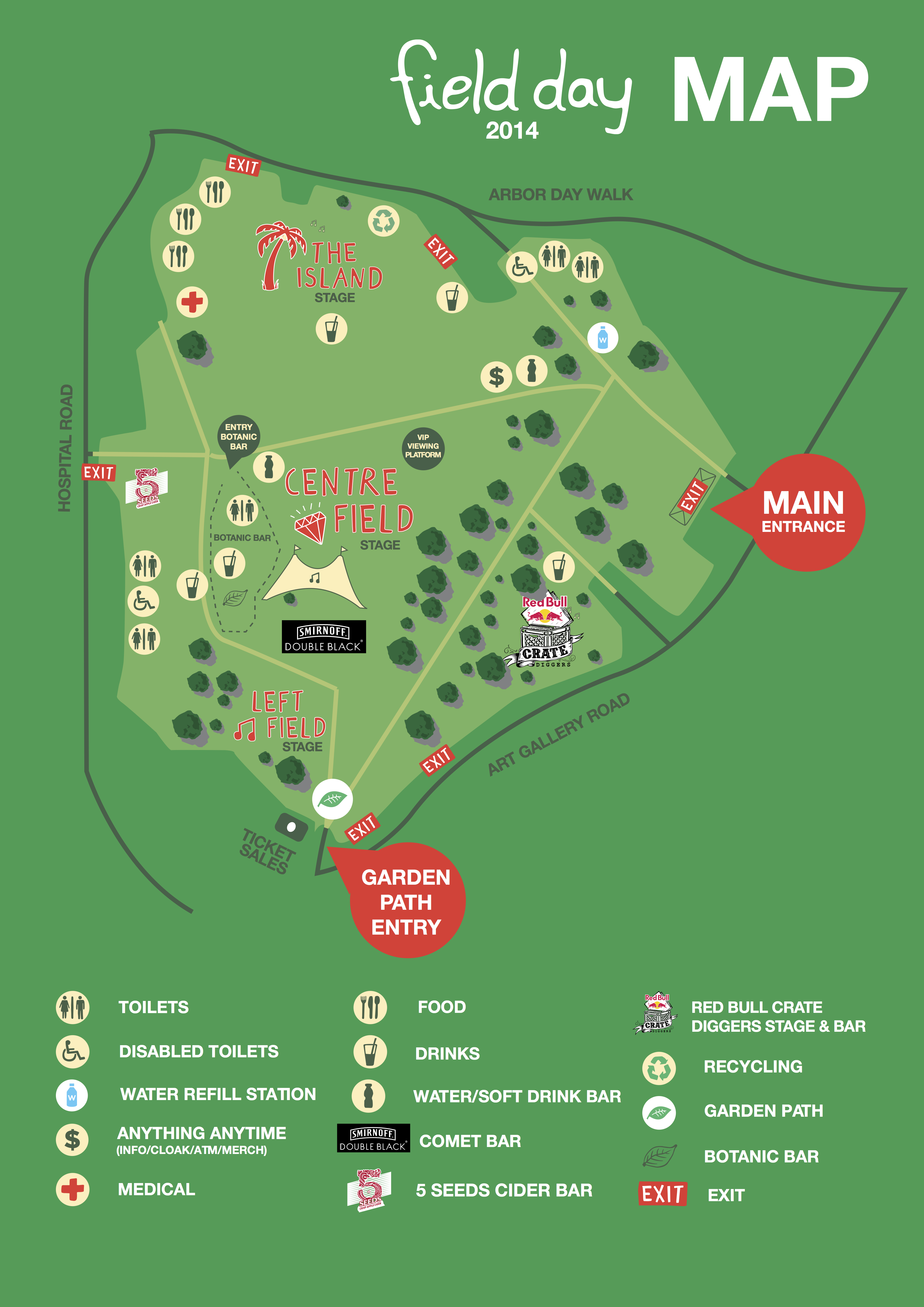 Field Day Map Field Day 2014 Unveil Set Times And App   Music Feeds Field Day Map
