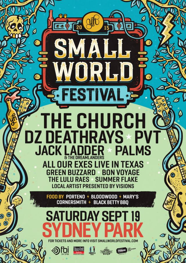 small world festival 2015 poster supplied