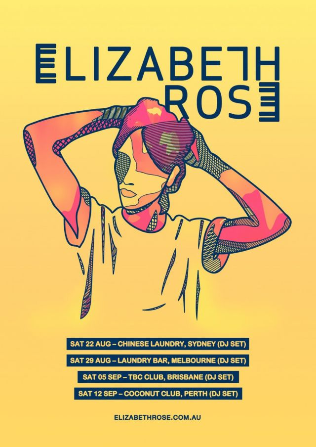 elizabeth rose dj tour 2015 poster supplied
