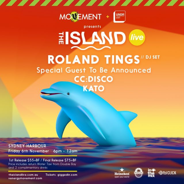 the island live 2015 poster roland tings supplied