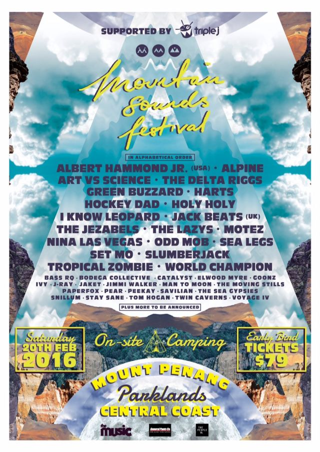 mountain sounds festival 2016 poster supplied