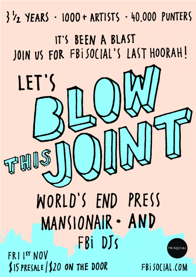 let's blow this joint