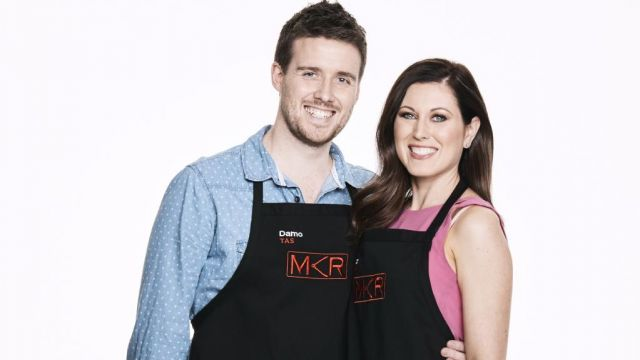 Damo and Caz my kitchen rules