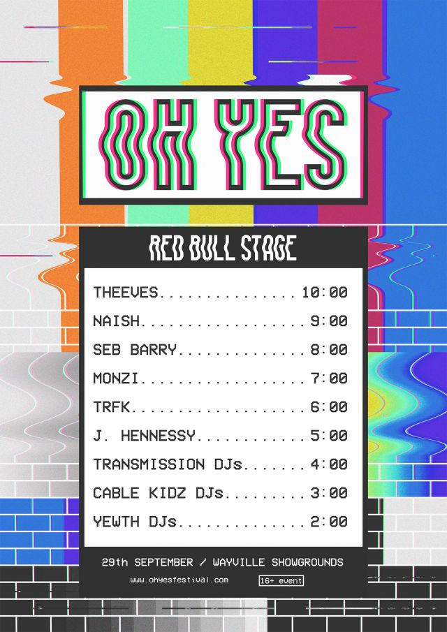 OH YES set times