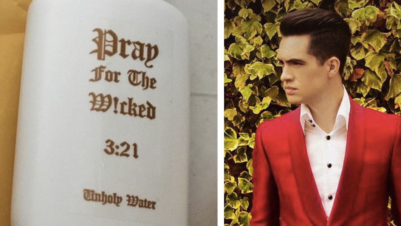 Panic! At The Disco Fans Are Being Sent Holy Water In The