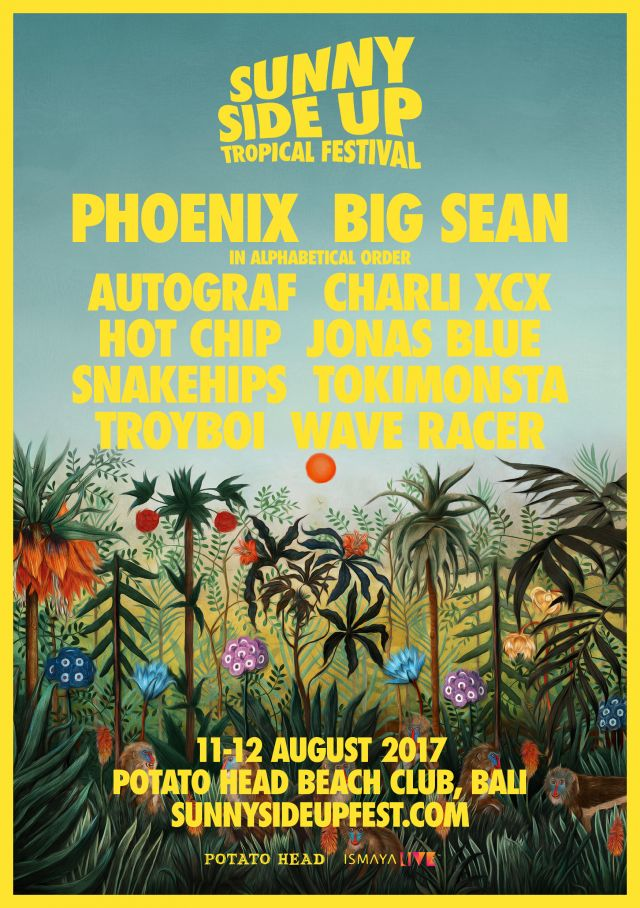 Sunny Side Up 2017 poster supplied
