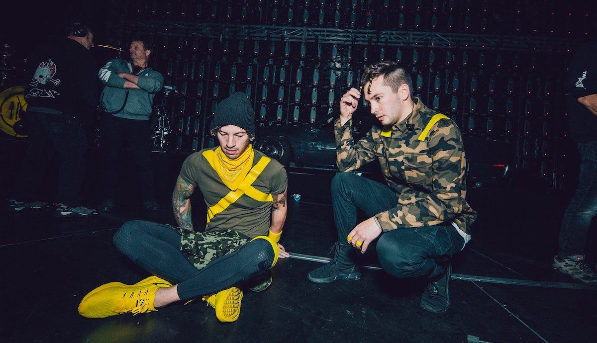 US duo Twenty One Pilots