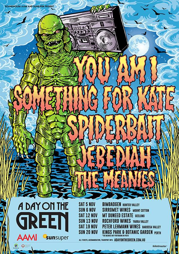 a day on the green lineup poster