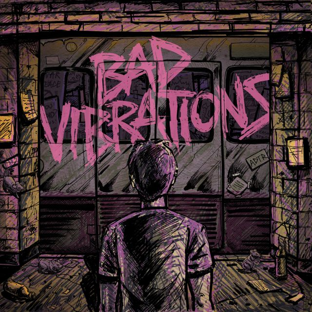 a day to remember bad vibrations album art 2016 supplied