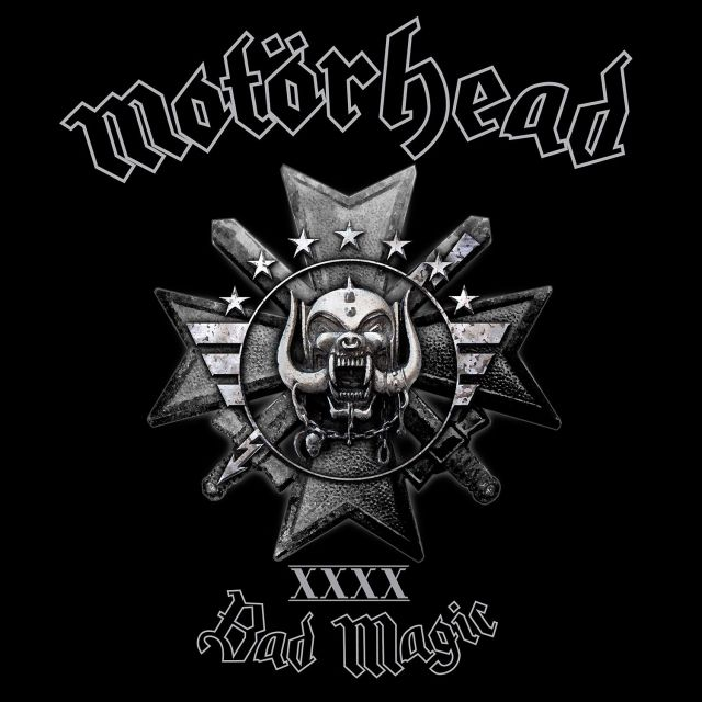 Motorhead Bad Magic Cover