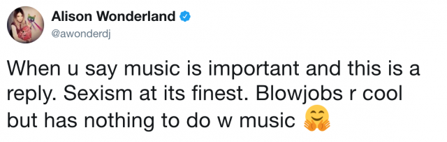 alison wonderland twitter screenshot 3