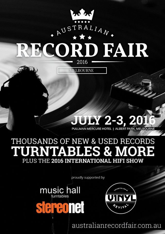 australian record fair 2016 poster source official facebook