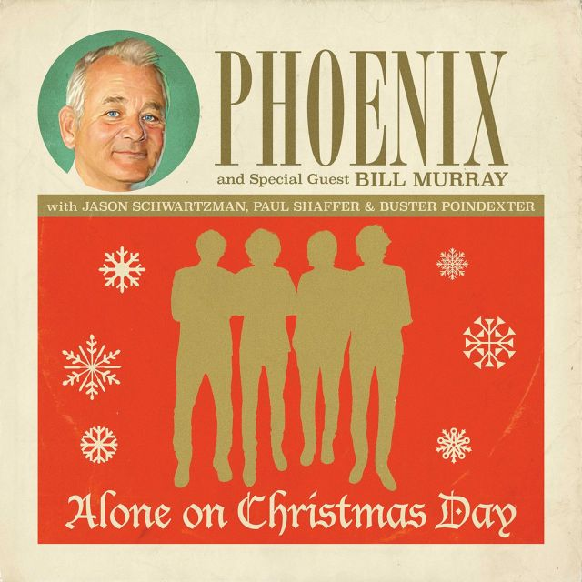 phoenix bill murray christmas single artwork via modern vinyl