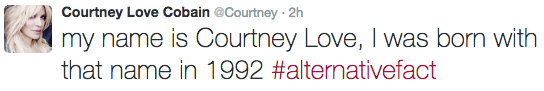 courtney love alternatviefact tweet 1