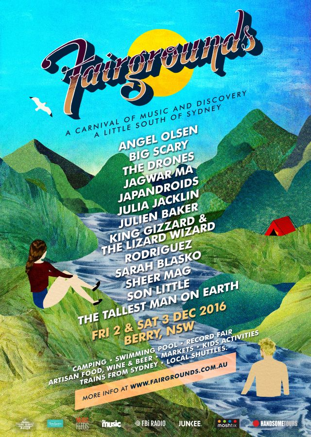 fairgrounds festival 2016 lineup poster supplied