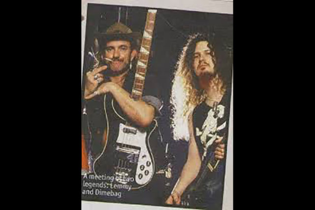 1. Lemmy Chills With Dimebag Darrell