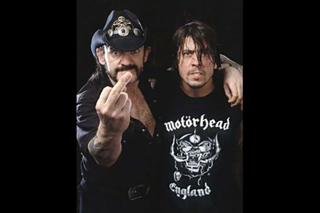 11. Lemmy Is A Bad Influence On The Nicest Guy In Rock