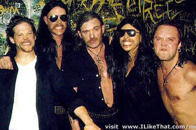 9. Lemmy Meets Some Of His Biggest Fans