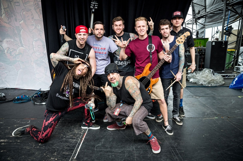 A Day To Remember, Korn, The Story So Far Soundwave 2014, Brisbane