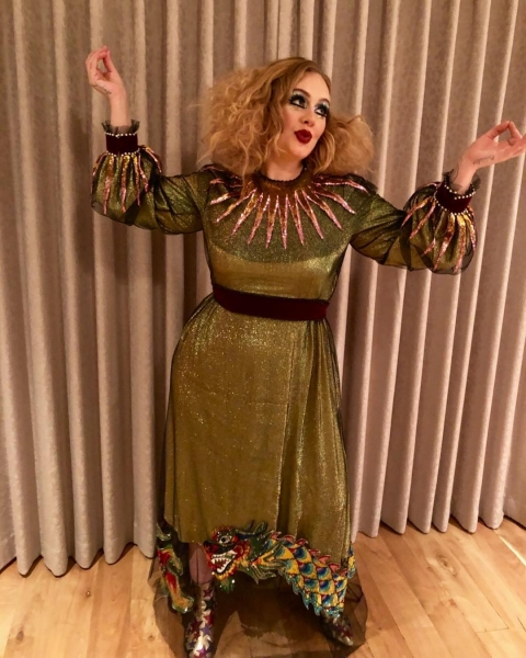 Adele... as a jester