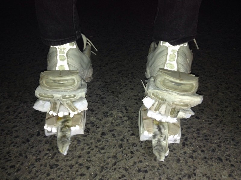 Death Grips... as some kind of shoe monster?