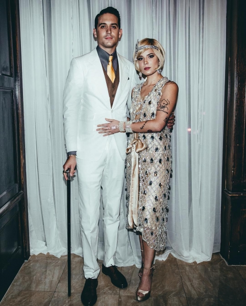 G-Eazy and Halsey... as characters from 'The Great Gatsby'