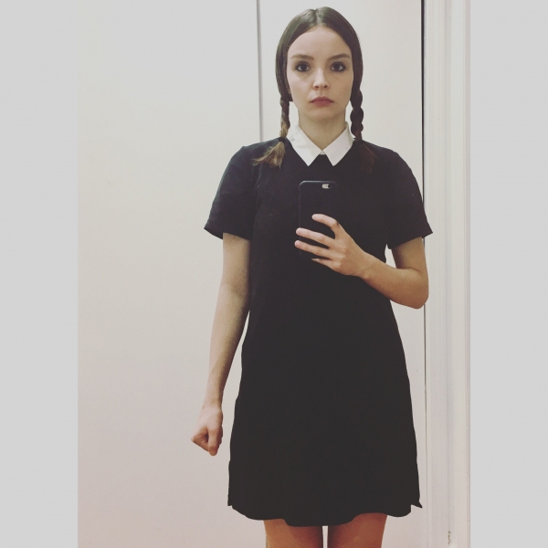 Chvrches' Lauren Mayberry... as Wednesday Addams from The Addams Family