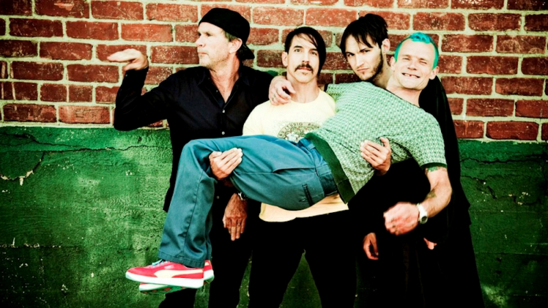 Out: Red Hot Chili Peppers