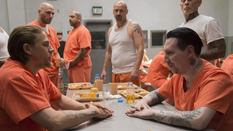 Or portraying a straight-up white supremacist on 'Sons Of Anarchy', Manson just keeps toying with our expectations.
