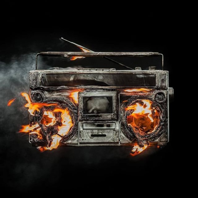 green day revolution radio artwork