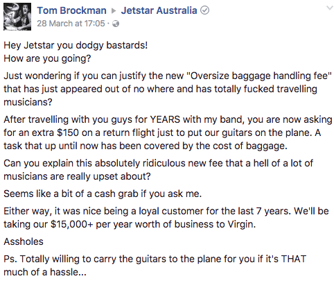 jetstar baggage comment 1