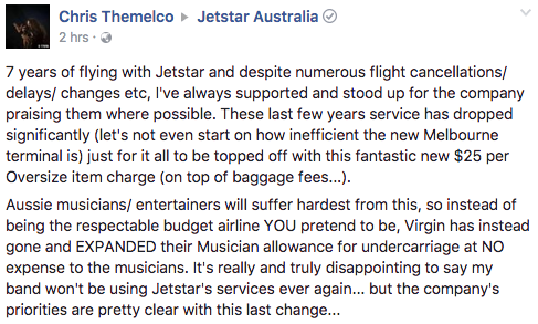 jetstar baggage comment 4