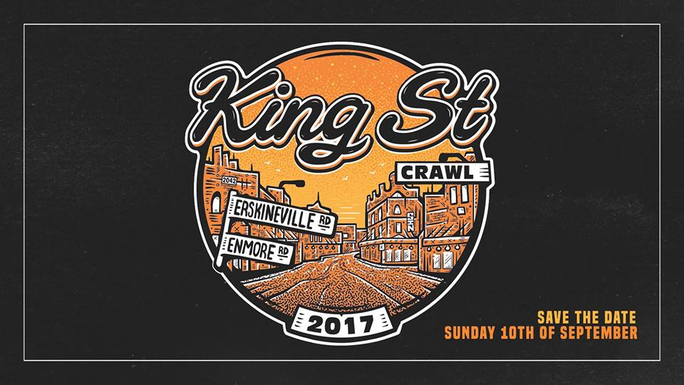 king st crawl