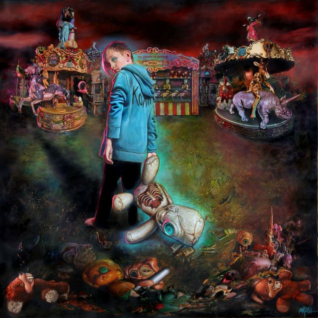 korn the serenity of suffering album art supplied