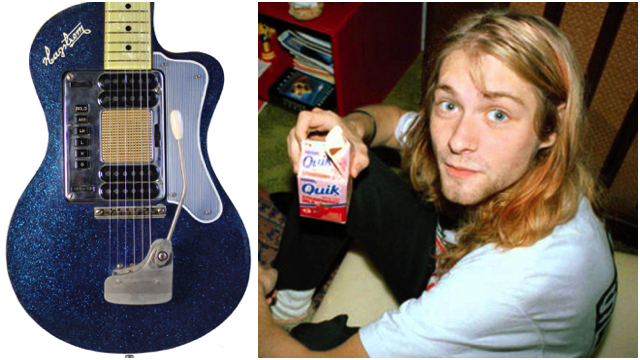 One Of Kurt Cobain S Guitars Is Up For Auction On Ebay Music Feeds